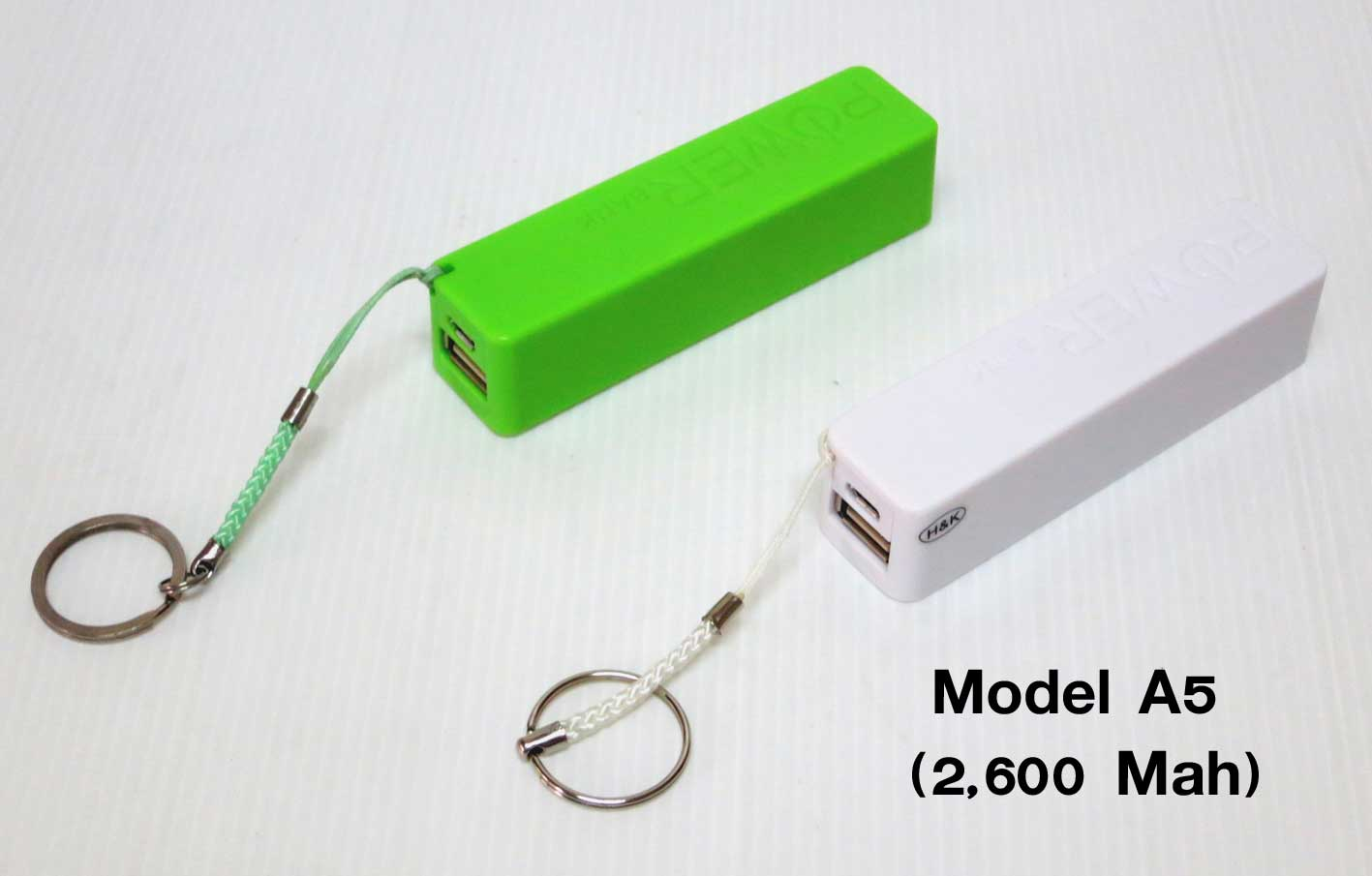 power bank Model A5 (2,600 Mah)