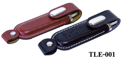 TLE-001(Leather Flash Drive)