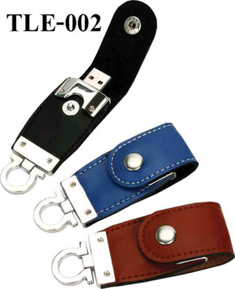 TLE-002(Leather Flash Drive)