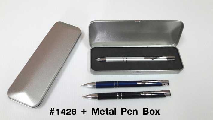 #1428 with Metal Pen Box