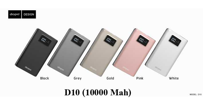 power bank dopo D10(10000 mah)